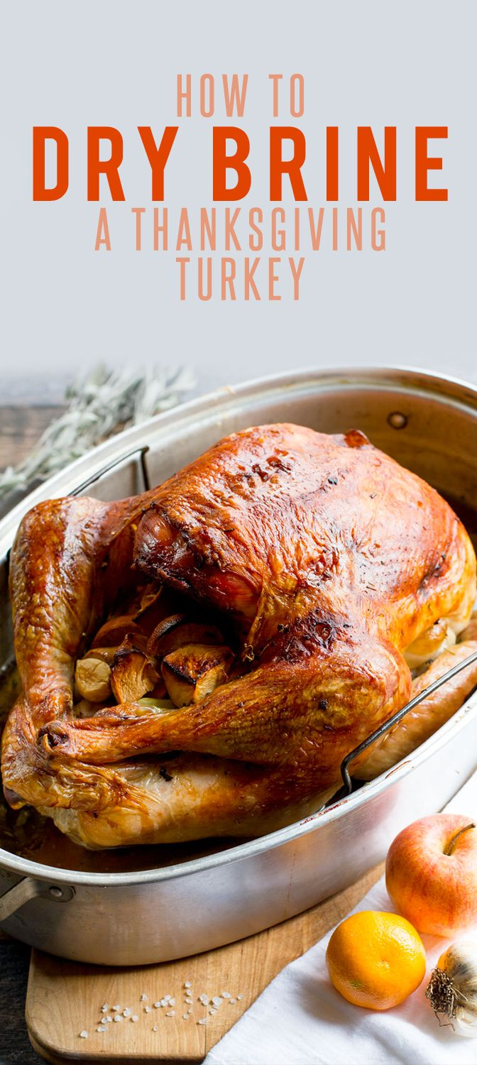 How to Dry Brine a Thanksgiving Turkey Recipe!