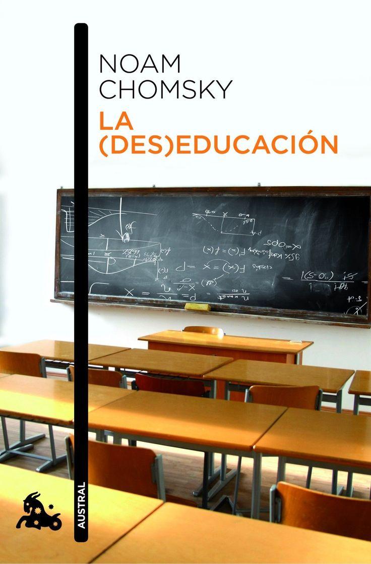 la (des)educacion-noam chomsky-9788408006633