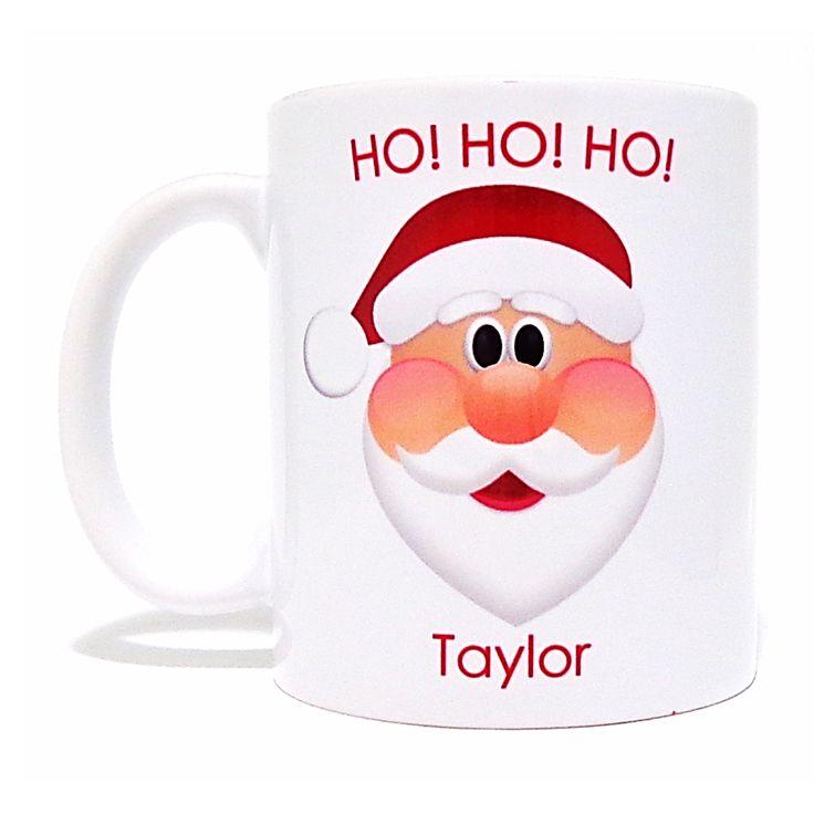 Personalised Christmas Mug - Santa