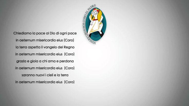 HIMNO DEL AÑO SANTO DE LA MISERICORDIA  Presenta la música y texto oficiales, pero con texto.  https://www.youtube.com/watch?v=eYg0jirqgSg