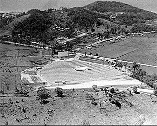 1957, Burleigh, First drive in theatre on the Gold Coast on the site where Stockland Burleigh Heads now sits.