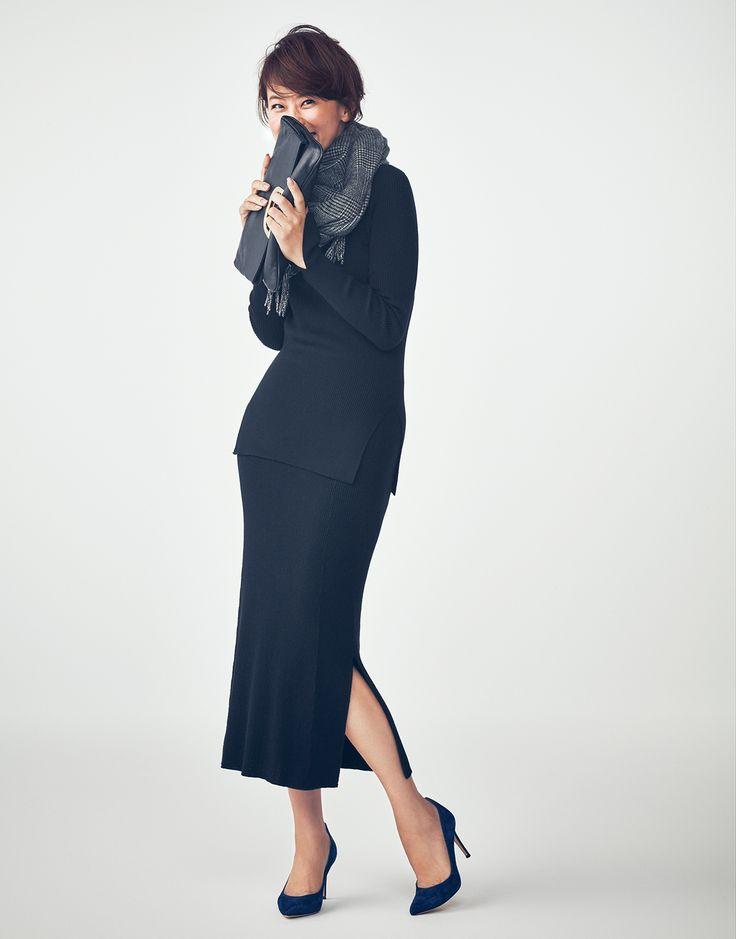 今欲しいニットセットアップはこの3タイプ!Marisol ONLINE 女っぷり上々!40代をもっとキレイに。