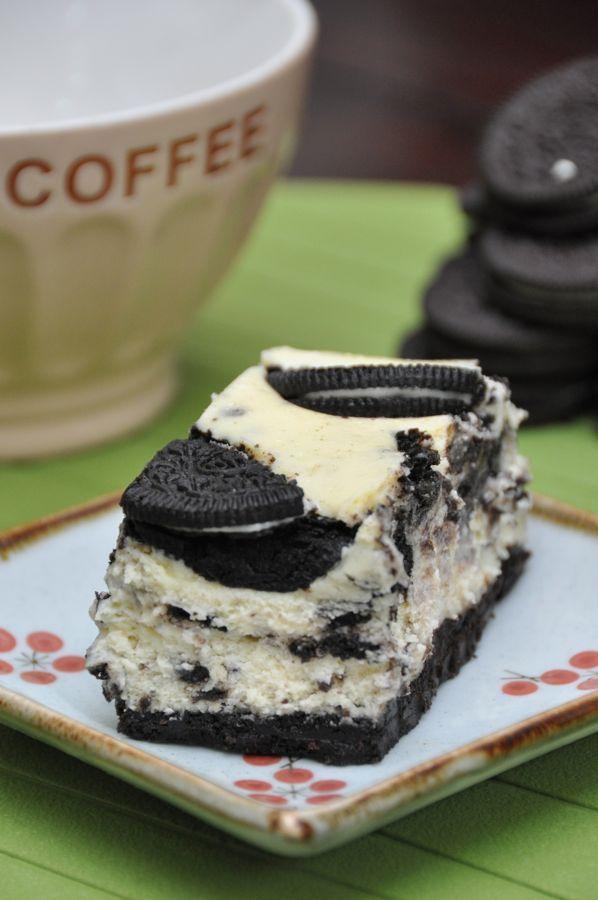 Oreo Cheesecake #Oreo #Cookie #Cheesecake #Dessert: Cheesecake Desserts, Cheesecake Bar, Cookies Cheesecake, Oreo Cheesecake, Oreo Desserts, Cheesecake Oreo, Sweet Tooth, Oreo Cookies, Oreo Cakes