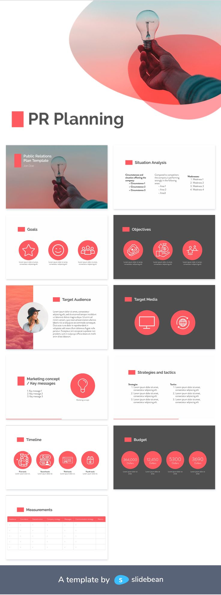PR Planning Template Public relations, Templates