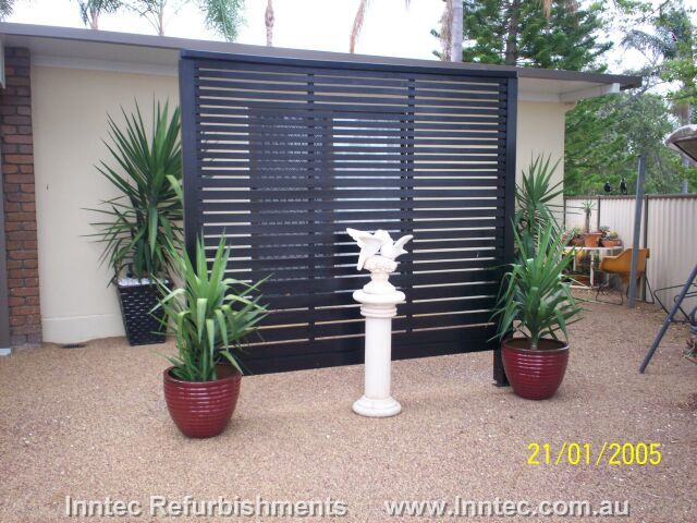 Deck Privacy Screen Patio Yard Pinterest Deck