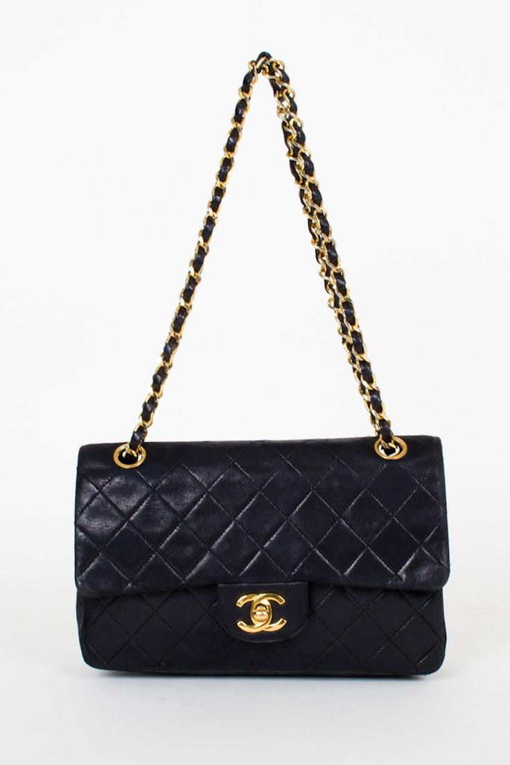 Chanel handbag superb vintage chanel bag vintage leather - A Classic Black Handbag Vintage Chanel I M Really Enjoying Cross Body
