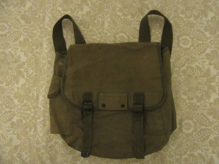 olive green military bag