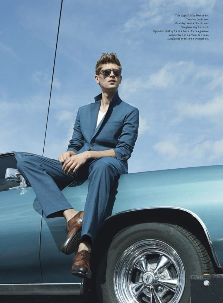 Details Magazine Spring/Summer 2013 April Colour In Motion: Metropolitan Men's Coloured Suiting & Modern Men's Accessories With Details