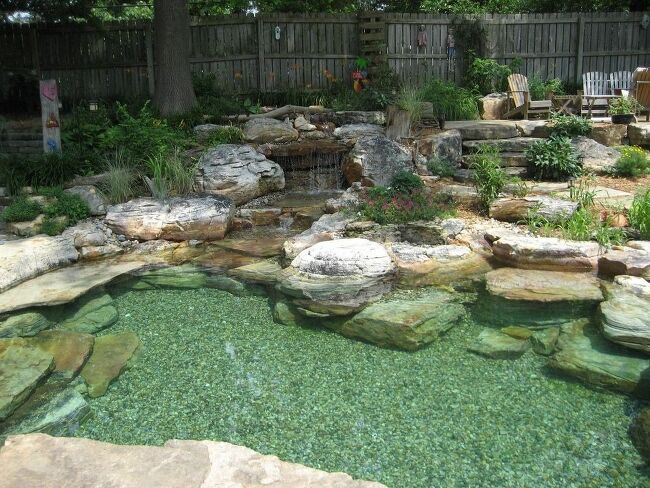 How Do I Build A Natural Swimming Pool Backyard Pool Pool Landscaping Garden Pond Design