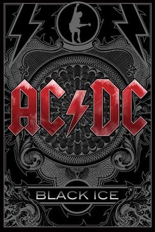 """""""Black Ice"""" AC/DC (Released in October 2008)"""