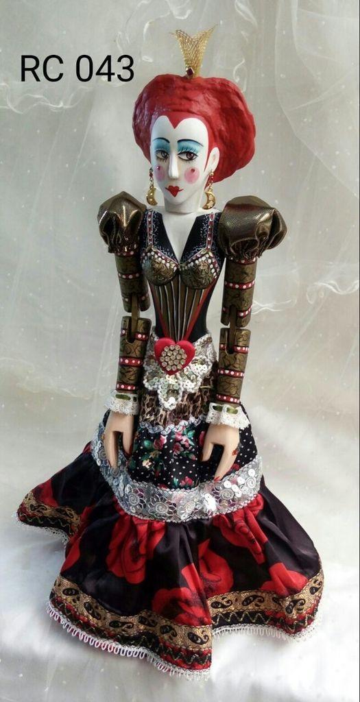 Rainha de Copas 043 - Comprar em Atelier Odila Freire