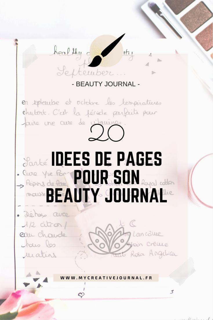 Beauty Journal : 20 idées de pages créatives !