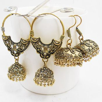 http://www.mirraw.com/designers/mk-jewellers/designs/antique-exclusive-earring-combo-jhumka--103