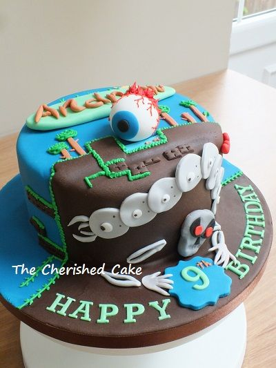 Terraria Birthday Cake Ideas