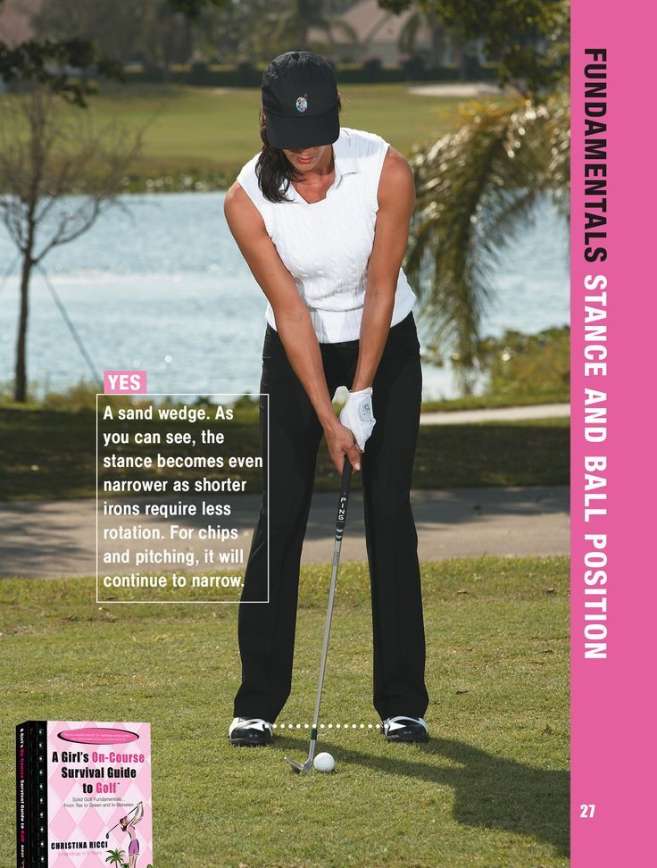 I like hipwidth for my wedges. Different Golf Swing
