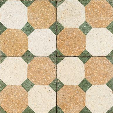 Retro Hex Jatana Antique Tile