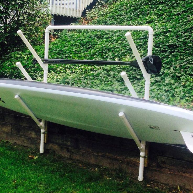 Pvc Pipe Paddleboard Roof Rack
