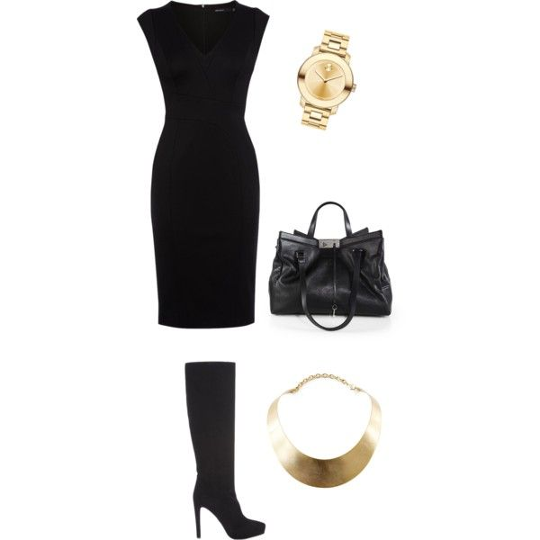 After office coffee by oliviavoul on Polyvore featuring polyvore, fashion, style, Karen Millen, Prada, Jimmy Choo, Movado and GUESS
