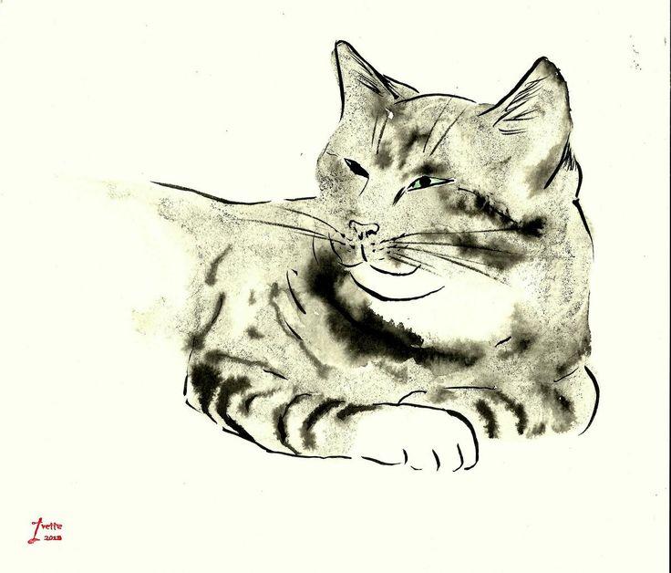 Watercolour of loeder