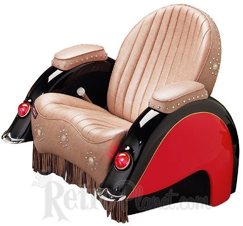 Image Detail For   Indian Motorcycle Recliner Chair