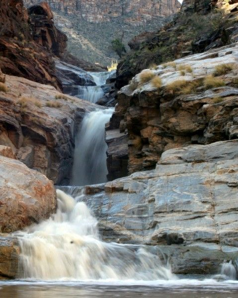 Mt. Lemmon waterfall- Tucson, AZ ....used to go here and lay out in the sun at the bottom of the 7 falls and get a sun tan