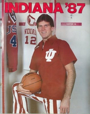 Indiana native and IU Legend, Steve Alford.  He'll always have a soft spot in my heart!