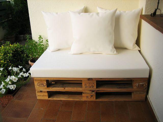 Chill- outs y muebles con palets                                                                                                                                                                                 Más
