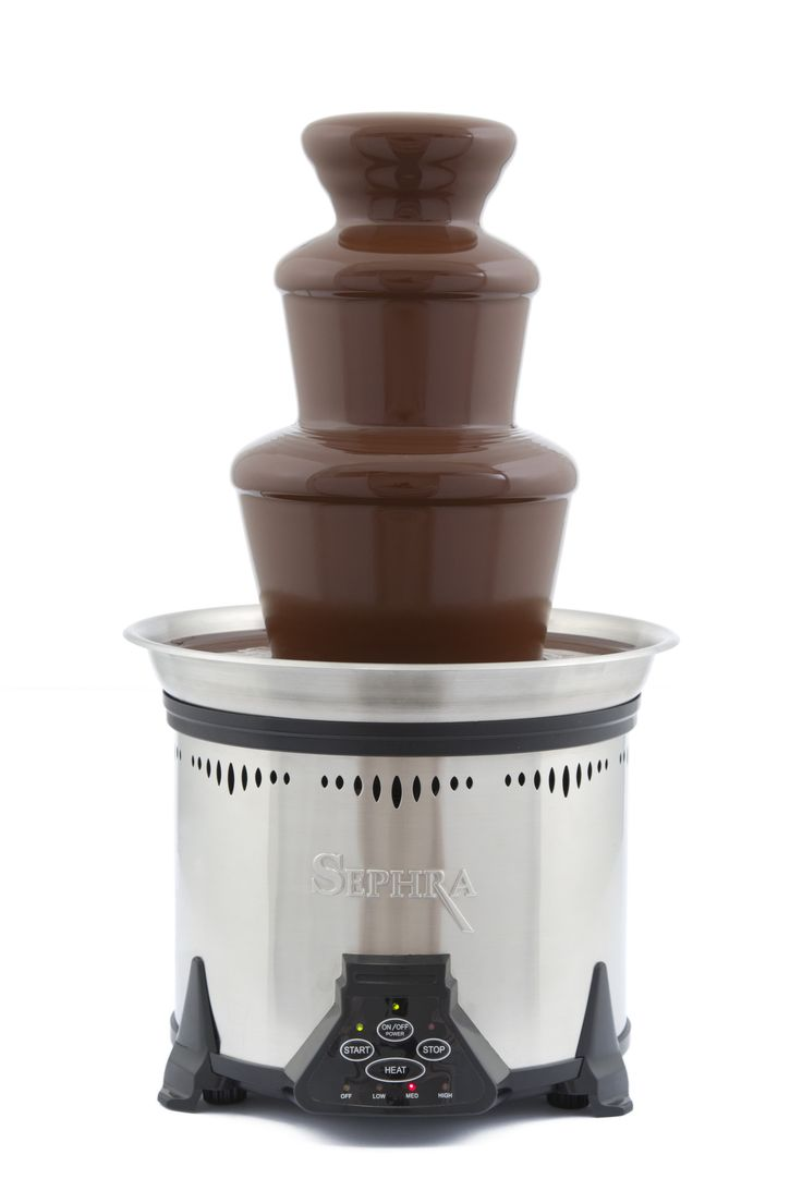 Sephra The Cortez 3 Tier Chocolate Fountain