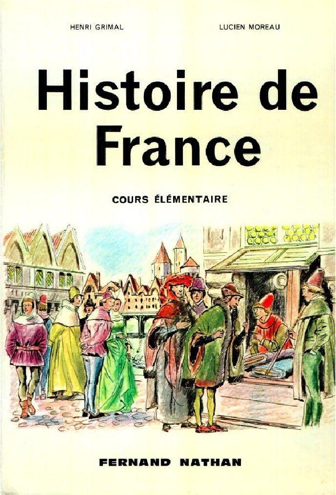 Manuels anciens en Histoire de France