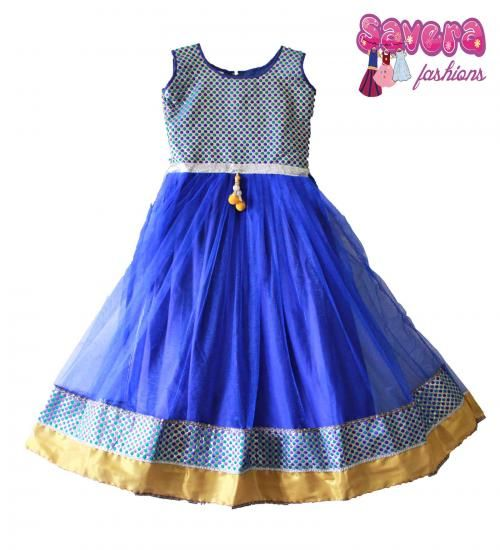 Cute Gorgeous Evening Gown for Kids . .. For more details www.princenprincess.in