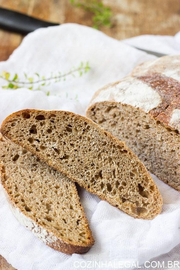Pão caseiro sem sova é uma receita muito fácil de fazer e essa versão integral é…