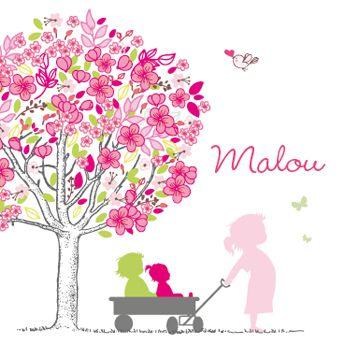 bloesem boom met zus of broer of meerdere broers/zusjes van gupje.com