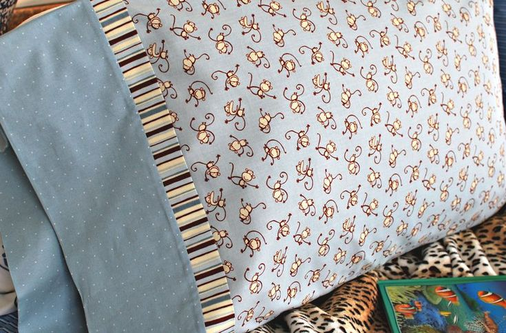 Tutorial for making the fastest, easiest pillowcase ever, from the owner of a quilt shop.