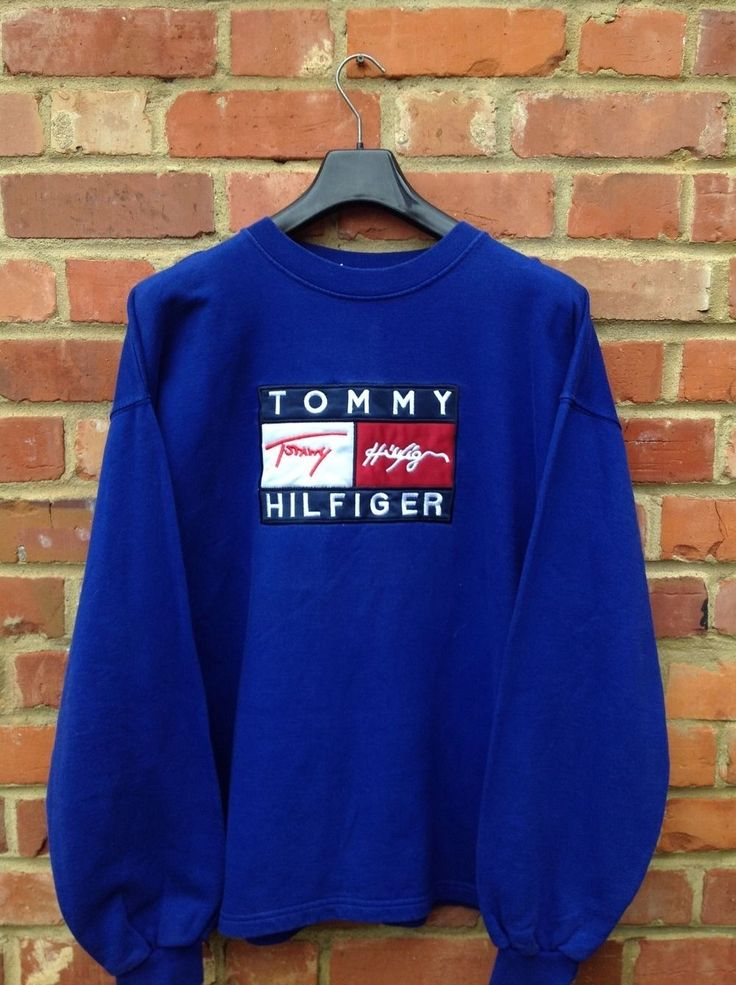 VINTAGE RETRO TOMMY HILFIGER SWEATSHIRT SIZE XL SWEATER JUMPER CHAPS POLO SPORT | eBay