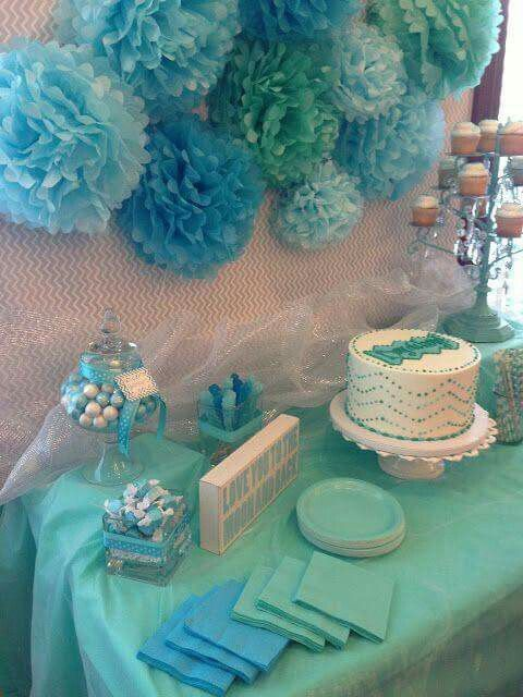 Decoracion para baby shower para ni o elliot pinterest for Decoracion de baby shower nino