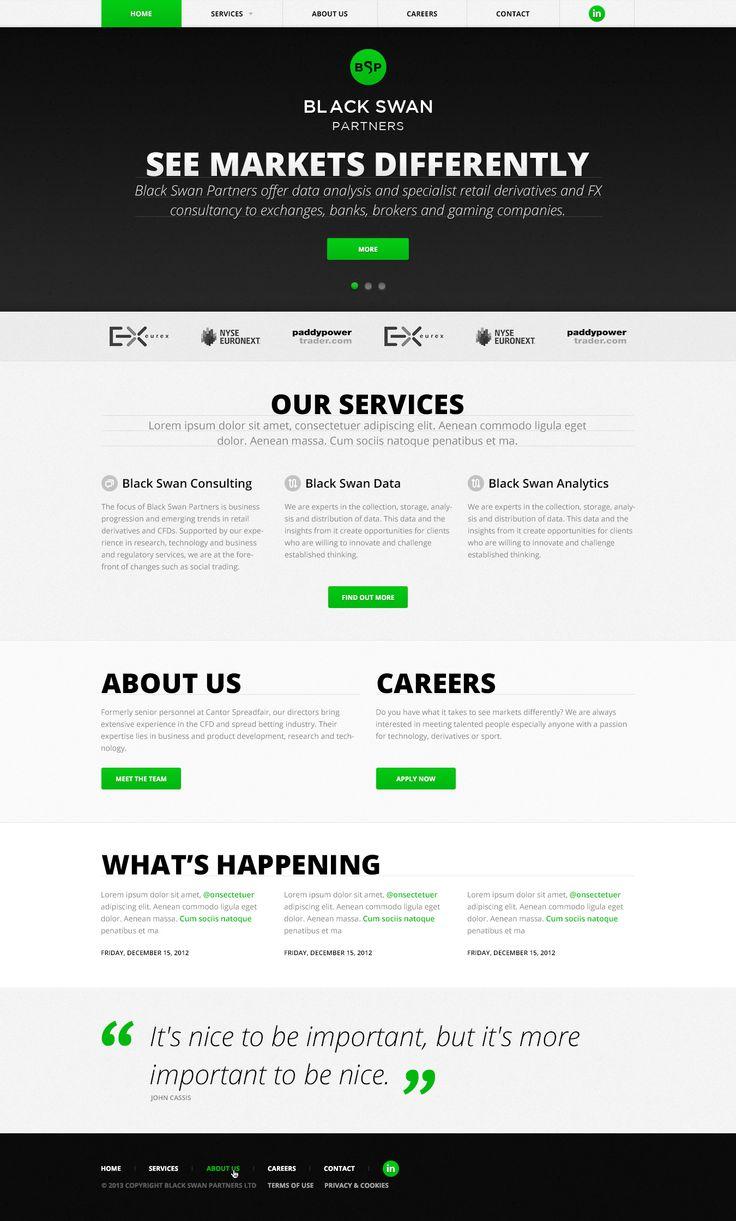 7 best Homepage Designs images on Pinterest | Homepage design ...