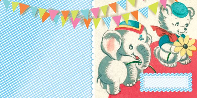 Cartolina: Vintage Birthday, Ana Davis, Inner Child