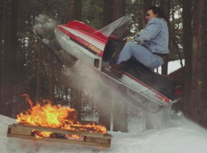 Dude Wearing All-Denim Canadian Tuxedo And Jumping His 79 Yamaha Snowmobile DEFINITELY Gets Laid http://ift.tt/2mQU6Sn