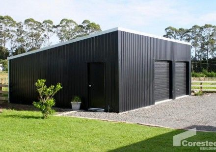 Coresteel delivers solutions that are strong, spacious and long-lasting, whether you require a steel frame utility shed, workshop, farm building or feedpad cover.