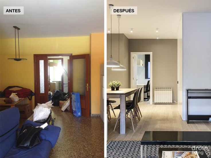 El antes y el despu s de un piso al completo decoraci n for Decoracion piso 65 m