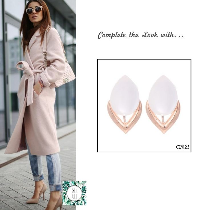 Ref: CP023 Medidas: 2.6 cm x 1.6 cm So Oh: 4.99  #sooh_store #onlinestore #brincos #earrings #fashion #shoponline #inspiration #styleinspiration #aw2016 #aw1617 #winter #style