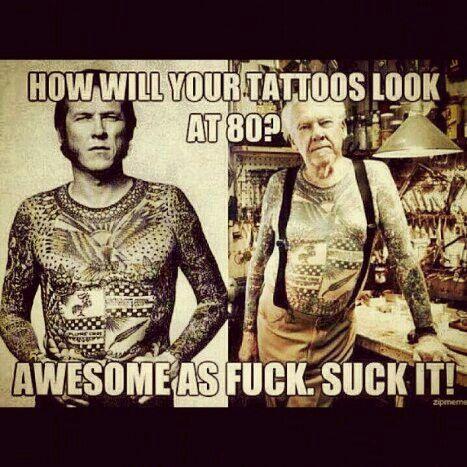 { tattoo tattoos funny meme hilarious }