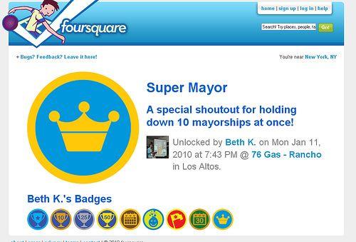 Marketing de Geolocalización. Cómo usar Foursquare en tu empresa: http://ow.ly/9l27j