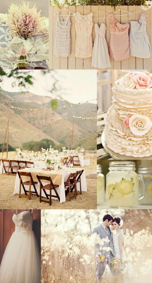 A perfect outdoor vintage wedding...x