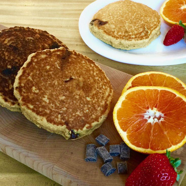 Chocolate Orange Vegan Griddle Cakes – veganleeks.com