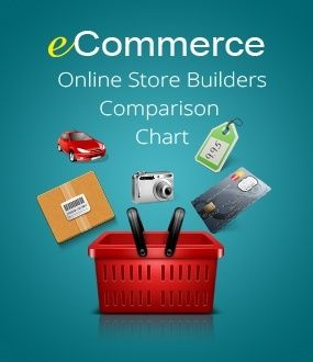 Building an ecommerce online store? This comprehensive chart will show you the pros & cons, and which one works best for you!