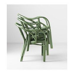 HOLMSEL Chair - green - IKEA$70