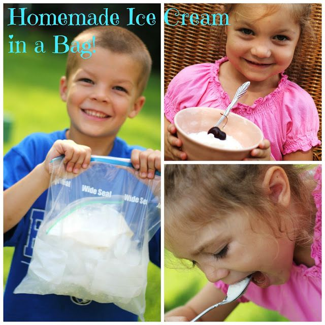 Niewald's Rural Living: Homemade Ice Cream in a Bag
