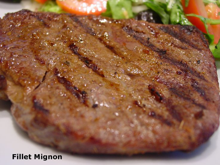 Fillet Mignon cooked to perfection!