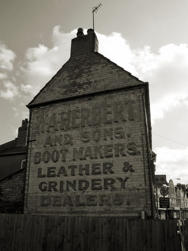Herbert Ghost sign in Attleborough Road, Nuneaton